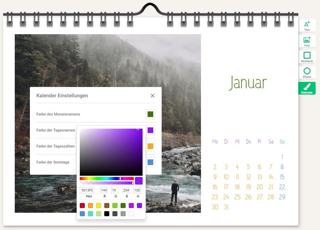foto kalender whitewall inhalt